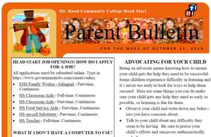 Parent Bulletin